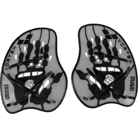 arena Vortex Evolution Hand Paddle silver-black